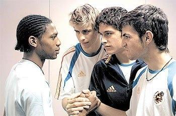young Piqué & Cesc