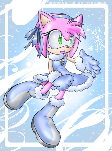 :: Winter Amy Rose