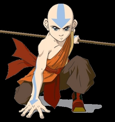 Avatar: The Last Airbender achtergrond with anime called Aang