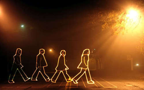 Abbey Road پیپر وال