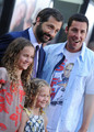 Adam Sandler with Judd, Maude & Iris Apatow @ Funny People Premiere - 2009 - judd-apatow photo