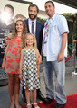 Adam Sandler with Judd, Maude & Iris Apatow @ Funny People premiere - 2009
