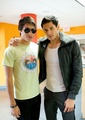 Alex and Kiowa on Terra's Miami studios - twilight-series photo