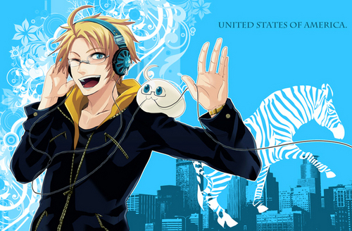 America + mochi - hetalia Photo