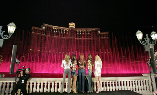 Angels Across America Tour – Bellagio Water Fountains