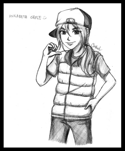 Annabeth In Gangsta Version XD