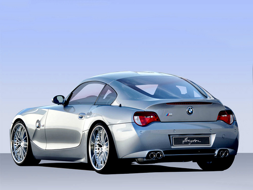 BMW Z4 M کوپ, coupe