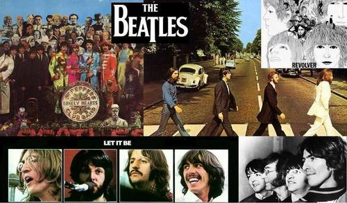 The Beatles Wallpaper With A Sign And Anime Titled