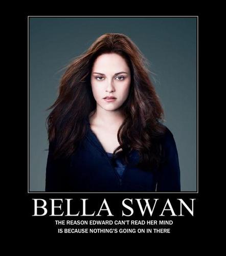 Bella angsa, swan Motivational