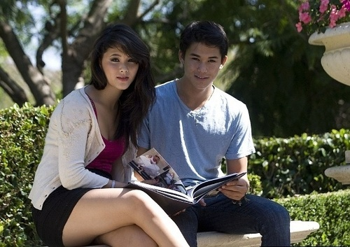 Booboo Stewart and him sister gor the Henry Flores