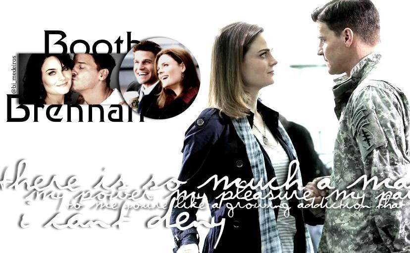 booth and bones. Booth and Brennan