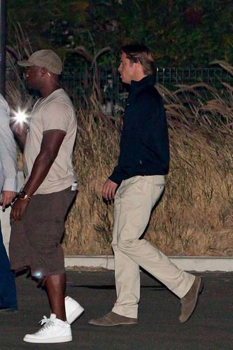 Brad Pitt and Robin Wright Penn Film 'Money Ball'
