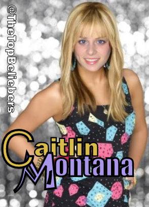 Caitlin Beadles as Hannah Montana :))