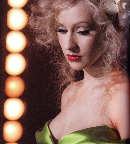 Christina Aguilera wallpaper titled Christina's Burlesque stills