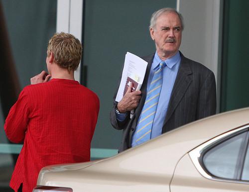 Cleese Walking To Seminar