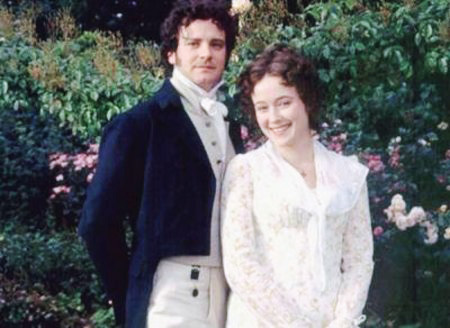 Colin Firth kertas dinding possibly containing a well dressed person, a business suit, and a suit called Colin Firth Mr. Darcy Pride and Prejudice