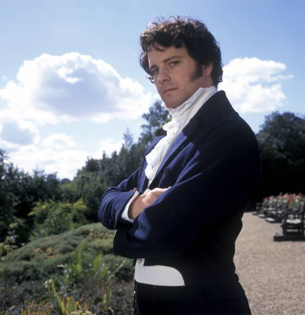 Colin Firth Mr. Darcy ...