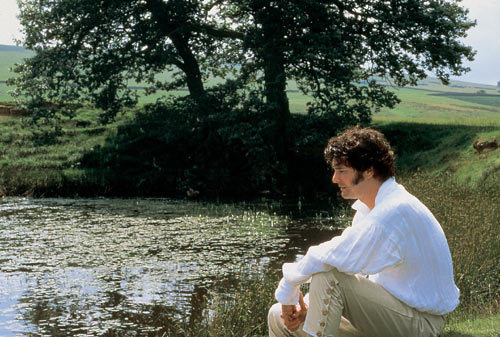 Colin Firth wallpaper probably containing a sockeye titled Colin Firth Pride and Prejudice Darcy