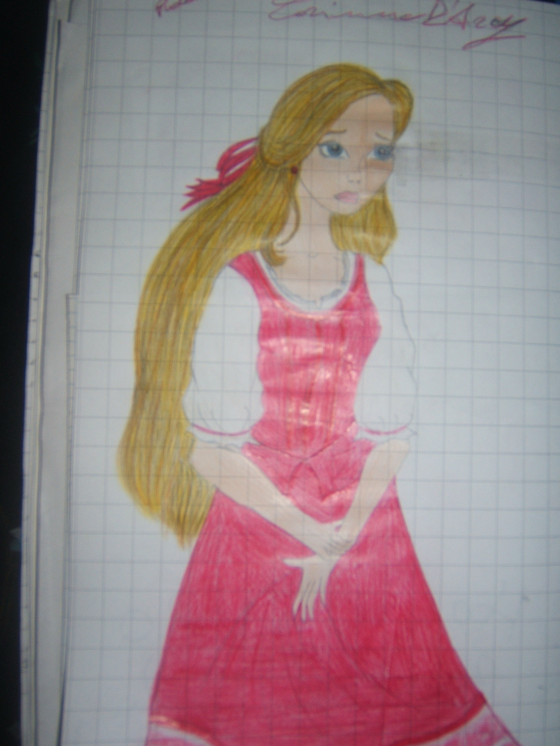 Corinne draw by me!