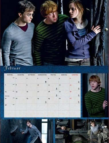Hermione Granger wallpaper called DH calendar