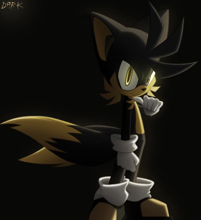 Dark Tails 2 - Evil Sonic Characters Fan Art (16183532) - Fanpop