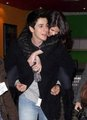 David and Selena cute! - dalena photo