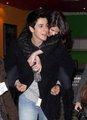 David and Selena cute!