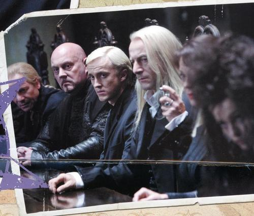 Deathly Hallows-Draco and Lucius Malfoy