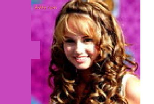 Debby Ryan - Signed - Blurry?