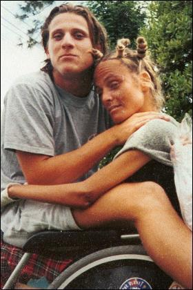 Diego Forlan and his Sister