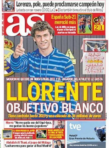 Fernando Llorente @AS 10.10.2010
