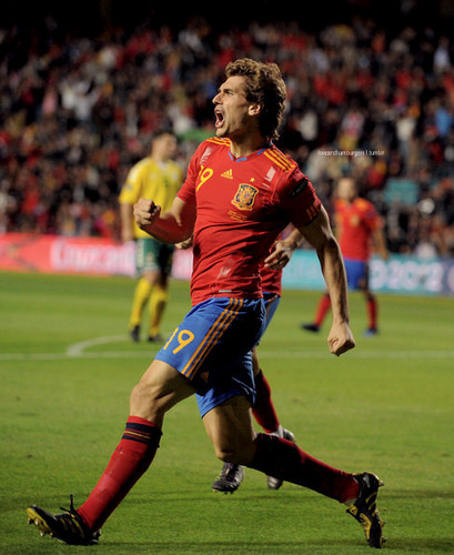 Fernando Llorente Spain - Lithuania 3-1 8.10.2010