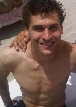 Fernando Llorente on the spiaggia