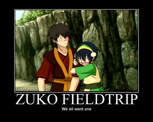 Avatar The Last Airbender kertas dinding titled Fieldtrip Motivational