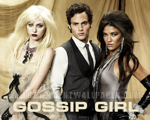 Gossip Girl Hintergrund with a portrait called Gossip Girl