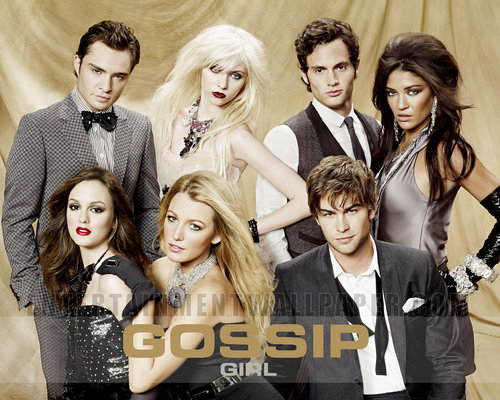 Gossip Girl wallpaper possibly containing a portrait titled Gossip Girl