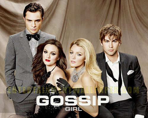 Gossip Girl wallpaper possibly with a dress suit and a business suit called Gossip Girl