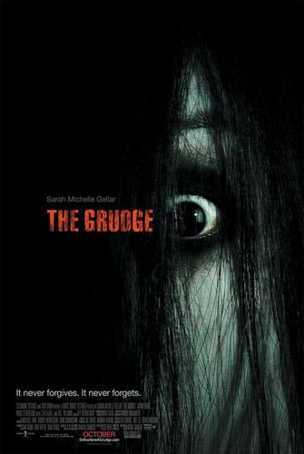 Asian Horror 映画 壁紙 titled Grudge