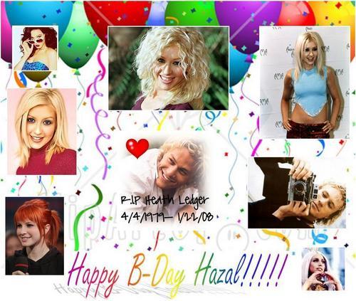 Happy B-Day Hazal!!!! :D