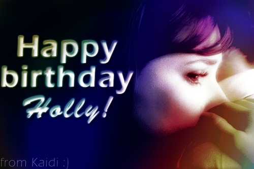 Happy Birhday, Holly!