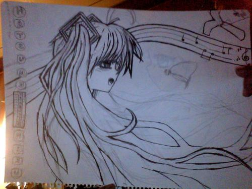 Hatusune Miku But shes not quite finnished