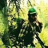 Into the Wild photo with a rifleman, a spurge, and a green béret, beret entitled Into the Wild <3