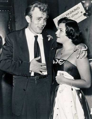 James Dean and Steffi Sidney