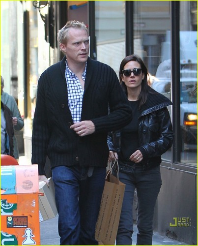 Jennifer Connelly & Paul Bettany: kedai 'Til anda Drop!