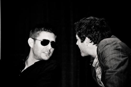 Jensen,Jared at Misha at ChiCon
