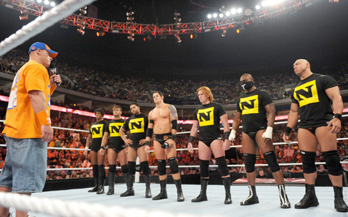 WWE's The Nexus images John Cena vs Nexus wallpaper and background photos
