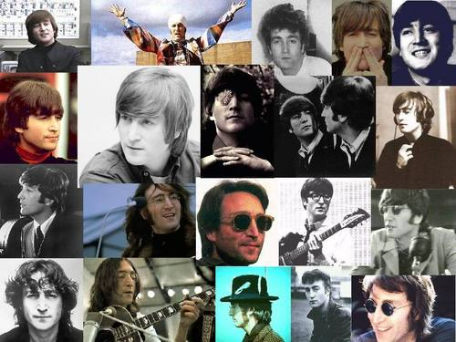 John Lennon wallpaper probably containing anime titled John Wallpaper Collage