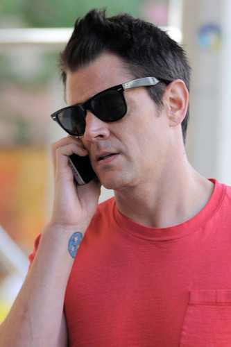 Johnny Knoxville in New York City