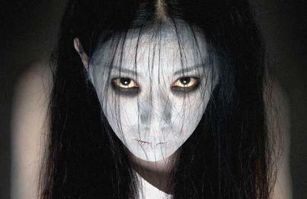 Asian Horror 映画 壁紙 entitled Ju-On