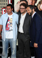 Judd Apatow, Seth Rogen & Adam Sandler @ Funny People Premiere - 2009